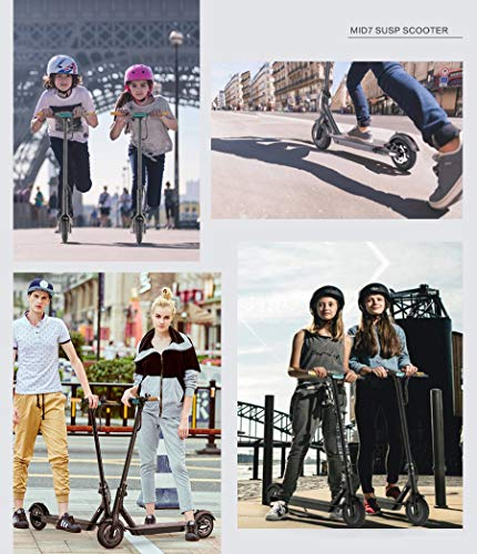 """TOMOLOO Hoverboard Speaker LED Lights UL2272 Certified 6.5"""" Electric and"""