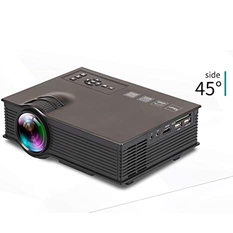 HLKYB Proyector, Home Cinema LCD película proyector Soporte ...