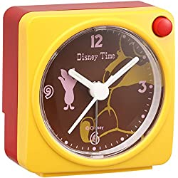 Disney Winnie the Pooh Piglet quartz alarm clock (yellow paint) FD471Y