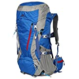 Eshow 50L Backpack Hiking Mountain Bag Daypack Rucksack Outdoor Sports Hiking Trekking Mountaineering Camping Travel Mens Womens Lightweight Water-resistant Anti- scratch Nylon