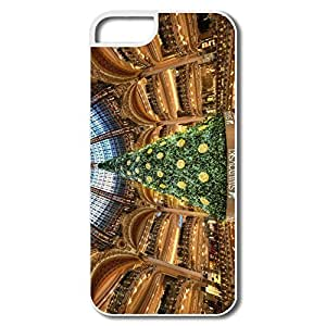PTCY IPhone 5/5s Personalized Cool Christmas Tree Paris
