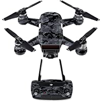Skin for DJI Spark Mini Drone Combo - Digital Camo| MightySkins Protective, Durable, and Unique Vinyl Decal wrap cover | Easy To Apply, Remove, and Change Styles | Made in the USA