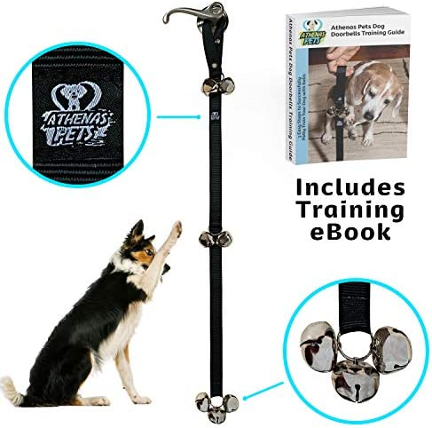 Athenas Pets Training Adjustable Doorbell