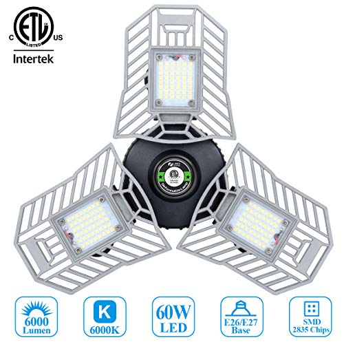 Garage Lights Led Deformable Garage Light Ceiling