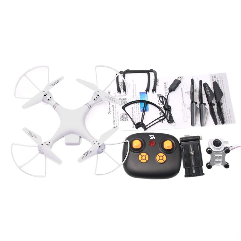 Oyamihin A806 Fernbedienung vierachsige Drohne Mini Flying Aircraft Quadcopter 2 Megapixel Hubschrauber Modell Kinder Spielzeug - Weiß