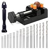 30 Pcs Pin Drill Set,Uspacific Universal Multiple