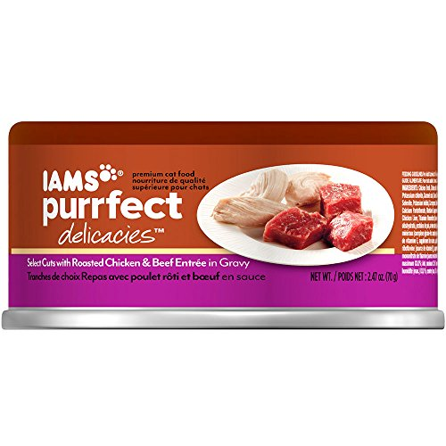 Iams Purrfect Delicacies Select Cuts Roasted Chicken & Beef