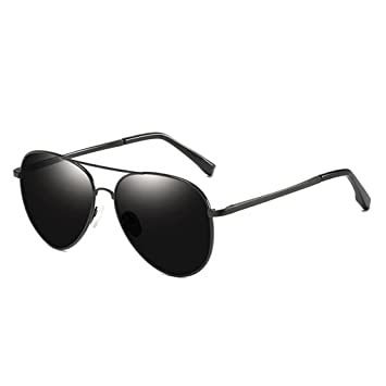 Meisijia coolsir Hombres Mujeres Unisex TAC Visual HD Gafas de Sol polarizadas Aleación Marco Protección UV400