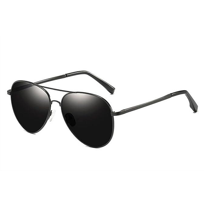 Sonnenbrillen Männer Vintage Fahr Hd Polarisierte Sonnenbrille Al-mg Metall Rahmen Uv400 Schutz Brillen