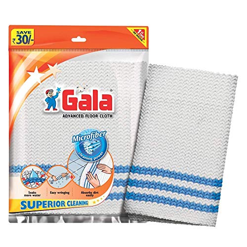 Gala Microfiber Advance Floor Cleaning Cloth(Pocha) for Mopping – Pack of 2