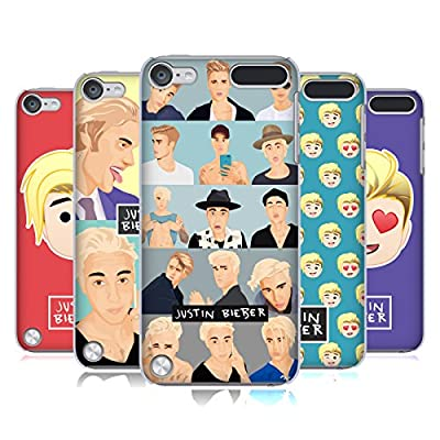 Official Justin Bieber Justmojis Hard Back Case for iPod Touch 5th Gen / 6th Gen