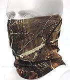 Dhana Style Multifunctional Magic Scarf, Magic Bandannas Tube, Seamless Headband, Muffler Scarf Face Mask, High Elastic Magic Head Wrap with UV Resistance,Camouflage Head scarves Type:XMLG (OAK)