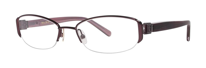 VERA WANG Eyeglasses V091 Cabernet 50MM