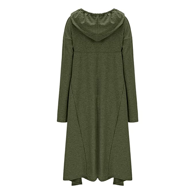 Yvelands Suéter Bordado con Cuello Alto Mujer Blusa con Capucha Larga de Color sólido Tops: Amazon.es: Ropa y accesorios