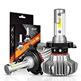 toyota 1995 led headlights bulb - H4/9003 LED Headlight Bulbs Autofeel 5000LM Built-in Driver Lamp All-in-One Conversion Bulb Kit High Low Beam with Cool White Lights - 1 Year Warranty