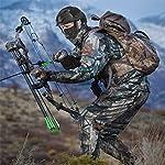 QZY Casque PJ Fast Tactical avec Masque pour Le Visage Couvre-Chef Polyvalent - Casque D'entraînement Multifonctionnel… 9