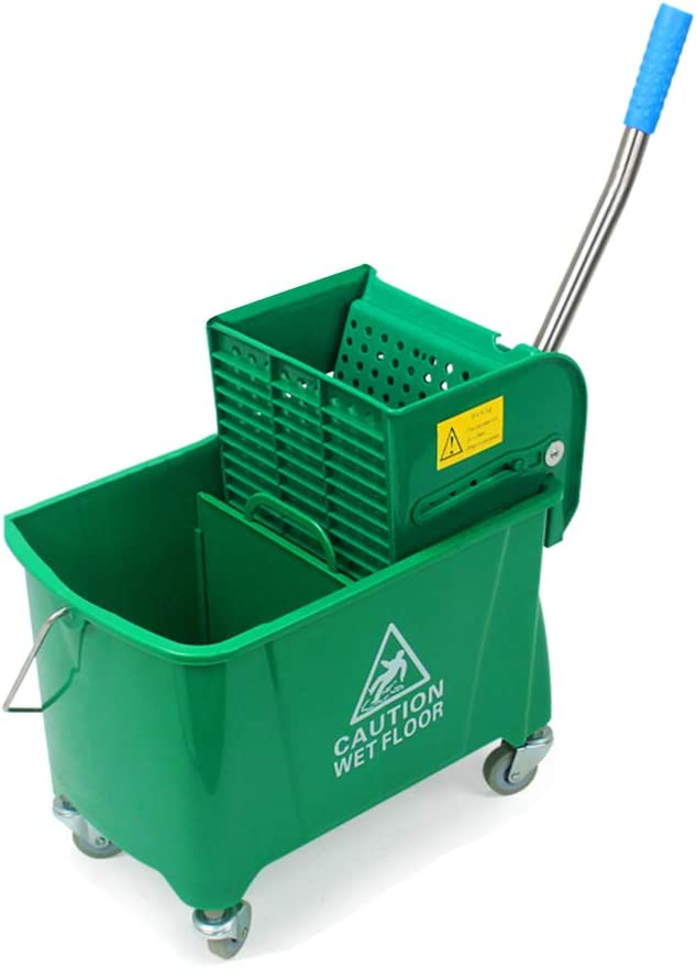 20L-Squeezing Water Bucket Multifunction Cleaning Car Hotel Restaurant Plastic Cleaning Car Color : Blue STcG-L Household Mop Bucket