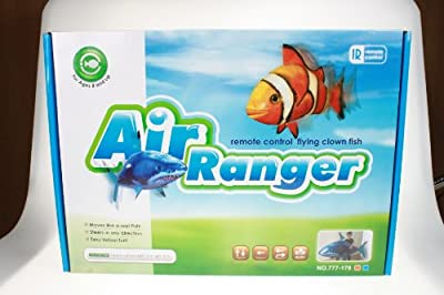 Air Ranger Remote Controlled Swimmers Flying Clownfish and Shark Toy (Set of 2) from Air Ranger