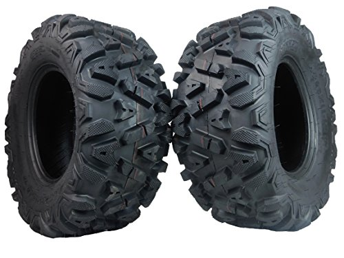 Two 26x11-12 KT MASSFX big TIRE SET two ATV TIRES SIX PLY 26