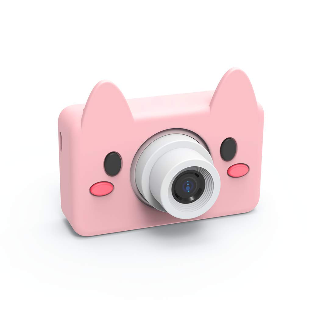 Giokfine 2019 Kids Toys Camera Compact Cameras for Children Gifts, 8MP HD Video Camera Gifts (Pink) by Giokfine (Image #7)