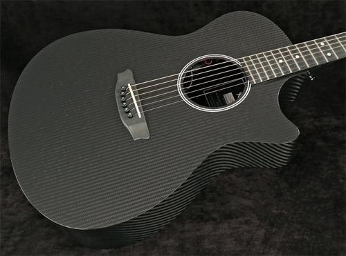 RainSong Hybrid Series H-OM1000N2 Slim Body cutaway acoustic electric with N2 neck