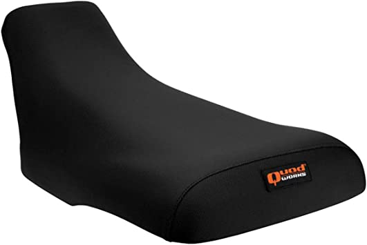 Quad Works 86-89 Honda TRX250R Gripper Seat Cover Black