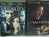 Derailed , Unfaithful : Erotic Thriller 2 Pack Collection