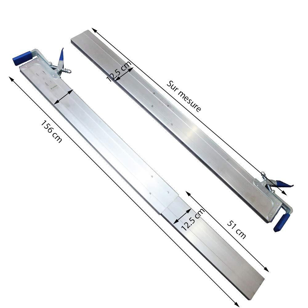Barre darrimage t/élescopique pour utilitaire /& remorque 240-270 cm