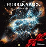 Goldistock -'Hubble Space Telescope' Eco-Friendly 2019 Large Wall Calendar - 12' x 24' (Open) - Thick & Sturdy Paper - Expand Your World & Your Mind