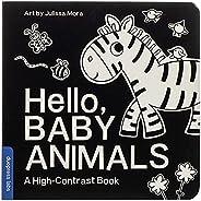 Hello, Baby Animals: A High-Contrast Book