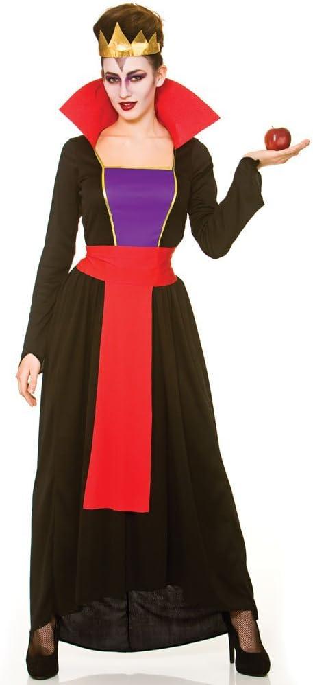 Adults Ladies Wicked Evil Queen Book Week Fairytale Fancy Dress Villain Costume