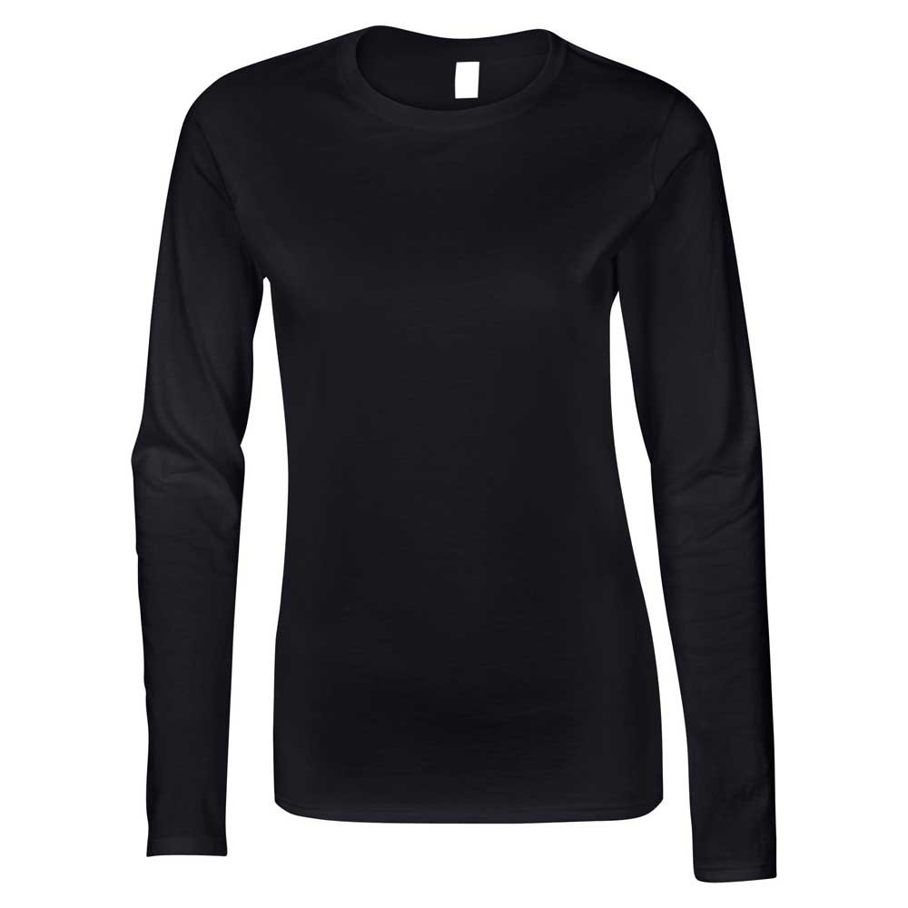 TALLA XXL. Gildan Softstyle Ladies Ringspun Long Sleeve Cotton T-Shirt