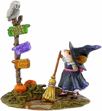 Wee Forest Folk M-482a Which Way Witch – 2014 Factory Limited
