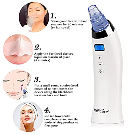 Blackhead Remover Skin Care Pore Vacuum Acne Pimple Removal Vacuum Suction Tool Fisher & Paykel Stretchgear Headgear for Forma Full Face Mask New