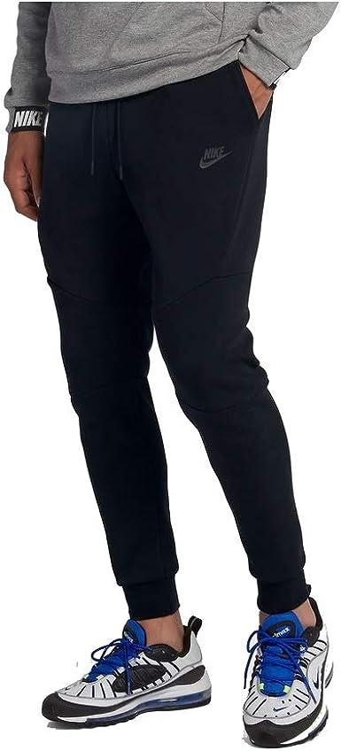 Nike Tech Fleece Jogging Bottoms Black X Large Amazon Co Uk Clothing