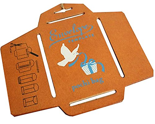 rd Message Envelope Template Wooden Stencil (Small) (Christmas Envelope Templates)