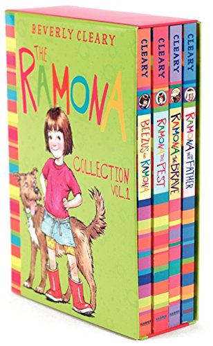 The Ramona Collection, Vol. 1: Beezus and Ramona / Ramona the Pest / Ramona the Brave / Ramona and Her Father [4 Book Box - Box Bezel