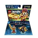 Chima Laval Fun Pack - Lego Dimensions (71222) & Chima Eris Fun Pack - LEGO Dimensions (71232) bundle of 2. -  Warner Home Video - Games