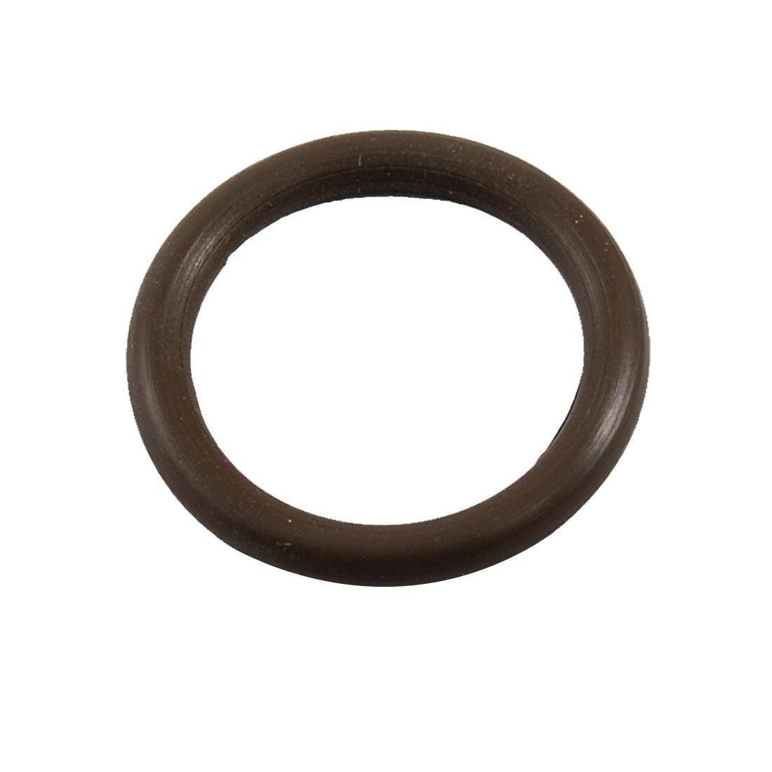 DealMux 24mm x 3mm x 18mm Fluorine Gummi O Ring /Öldichtringe Waschmaschine