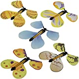 BrawljRORty Novelty & Gag Toys, 5Pcs Creative Hand Transform Cocoon Flying Butterfly Prank Magic Trick Props Toy