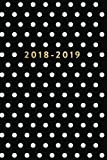 2018-2019: Black and White Polka Dot, July 2018