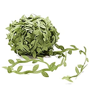 Juvale Artificial Hanging Vine - Fake Garland Greenery for Wreath, Wedding Party, Home Decoration, 300 Feet Total 25