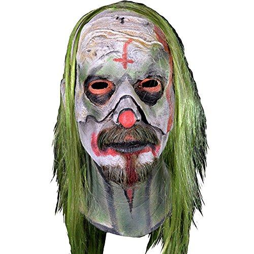 [Rob Zombie's 31 Halloween Psycho Head Men's Adult Costume Mask] (Rob Zombie Halloween Masks)