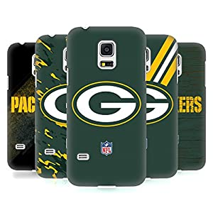 Official NFL Green Bay Packers Logo Hard Back Case for Samsung Galaxy S5 mini from Head Case Designs