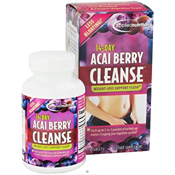 Amazon.com: Applied Nutrition 14-day Acai Berry Cleanse 56