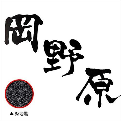 オンリーワン Fudemoji フデモジ 漢字 3文字 HS1-FMK-3N 『備考を確認し、書体を選択してください』 『表札 サイン 戸建』   B00Y8FBGRO