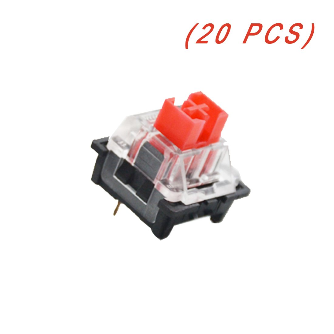 20 Keyswitch - Teclas Outemu Red Para Teclado Mecanico