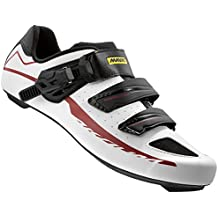 Mavic Aksium Elite II Road Shoes - BLACK/WHITE/RED, 6 UK (US 6.5)