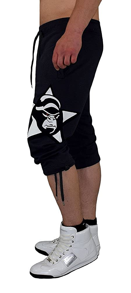 Gorilla-Star 4XL pantaloni sportivi da uomo in uno stile ultra alla moda taglia XS corti