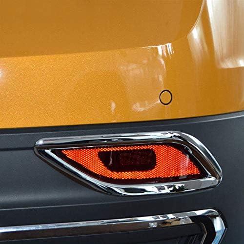 Dmwfaker F/ür VW T Cross 2018-2020 Auto Nebelschlussleuchte Lampe Nebelscheinwerfer Rahmenabdeckung Verkleidung Au/ßenstyling ABS